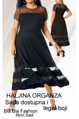 Haljina Organza Trim Dress