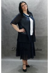 Plus size skirt suit Firenza 1