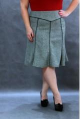 Suknja Lotos za puniji stas