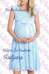 Haljina Za Trudnice Sladjana Svetlo Plava